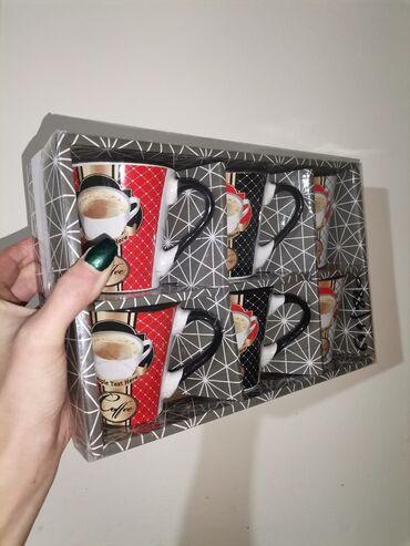 Set 6 šoljica za kafu Novo ne otpakovano Pogledajte i ostale moje ogla