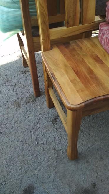 Продаю стулья натуральное дерево. почти новые