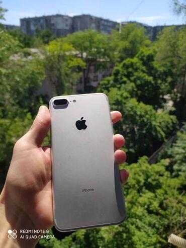 Iphone 7Plus, 128гб, состояние хорошее, есть маленькая трещина в