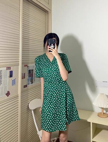 В наличии лёгкое платье на жаркое время годаБесплатная доставка внутри