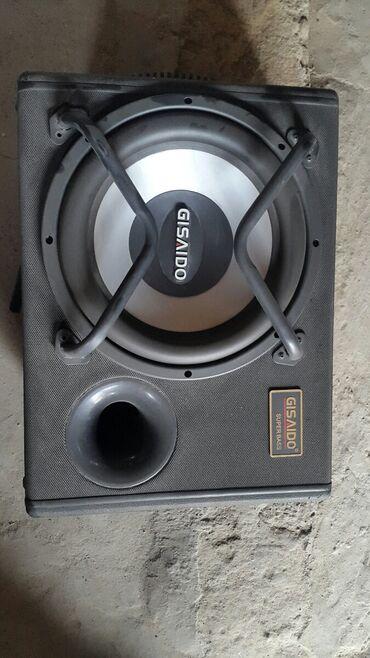 Аудиотехника - Кок-Ой: Срочно продаю Самбуфер!коробка целая,качает мощно,до 2 киловат,звук