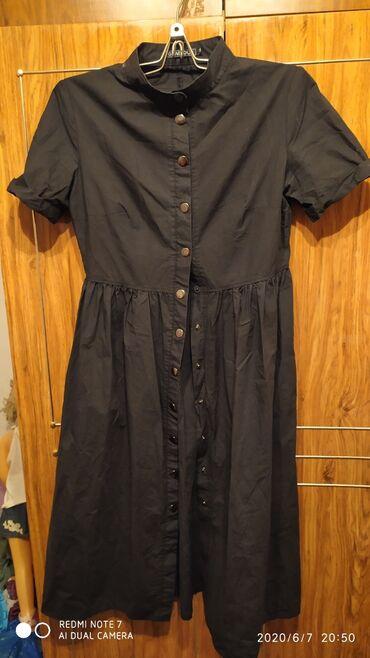 Находки, отдам даром - Кыргызстан: Платье ниже колен,ткань хб, состояние хорошееРазмер 40-42На