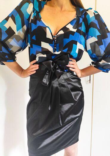 Polovna crna suknja,brenda Afrodite mode collection.U odlicnom stanju