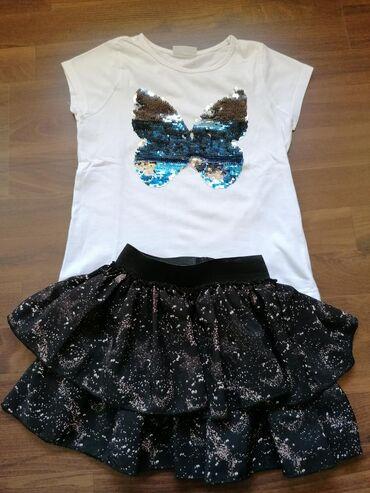 Komplet očuvane garderobe za devojčice, veličina 6