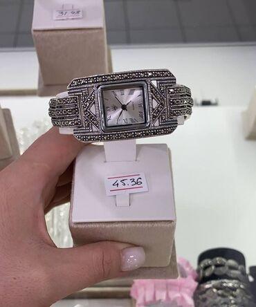 Часы.Серебро с марказидами 925 пробыПроизводитель ТайландЕсть
