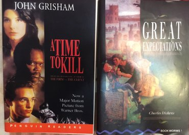 Bakı şəhərində A time to kill ( upper intermediate) great expectations ( upper interm