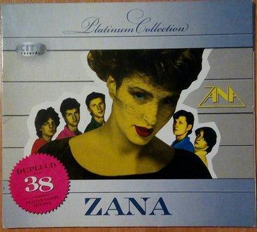 Zana 38 hitova, dupli cd, u odličnom stanju, 300 dinara. Preuzimanje - Belgrade