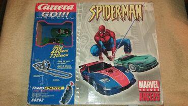 Staze - Srbija: Carrera Go! Spiderman 60803 auto staza. Ispravno. Ne morate da trosite