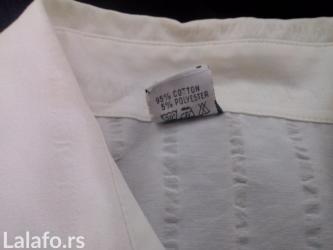 Parka rukavi - Srbija: Prodajem belu košulju, L veličine, proizvedeno u Turskoj. Nošena par