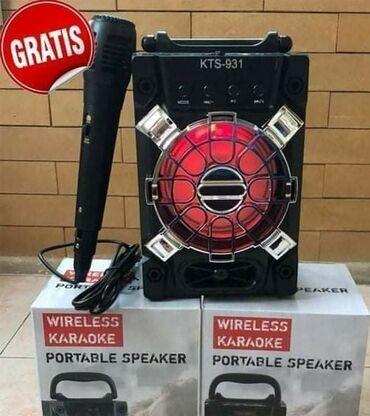 Elektronika - Sombor: Bluetooth Karaoke zvučnik sa mikrofonom KTS-931Samo 2.590