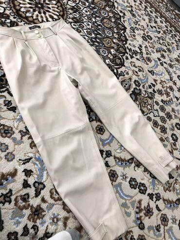 Кожаные брюки новые
