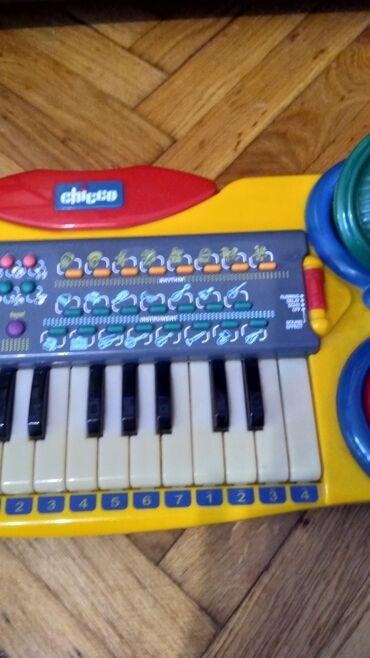 Farma krava - Srbija: Chicco klavijatura farma 4 u 1 vise mogucnosti edukativna igracka kao