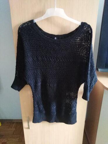 Ženska odeća | Lazarevac: Crni dzempercic bluzica