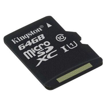 карты памяти sd для телефонов в Кыргызстан: Микро сд флешка карта памяти micro sd 64gb