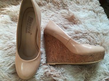 Модные Туфли на золушку. 34-35размер, на узкую ножку .бу,хорошее