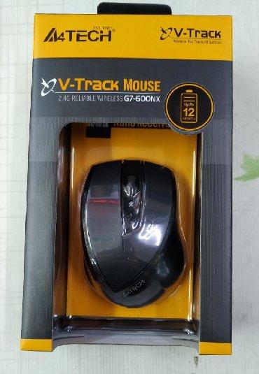 Компьютерные мыши - Кыргызстан: Мышь беспроводная A4TECH G7-600. Новая. Dpi 2000. Все товары смотрите