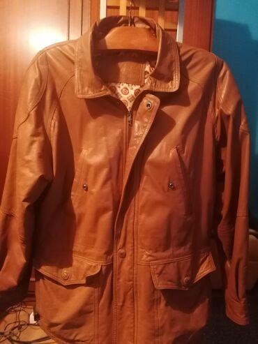 Na prodaju dve veoma ocuvane muske jakne od ciste koze, cena za obe je