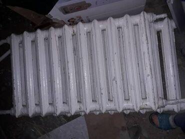 Отопление и нагреватели - Кыргызстан: Чугунные радиаторы парового отопления 150 сом за секцию