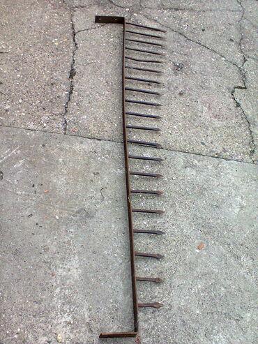 Kovanice - Srbija: - Kovani metalni šiljci za kapiju ili ogradu staro preko 100 godina Pr