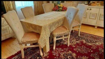 6 stol 1 stul