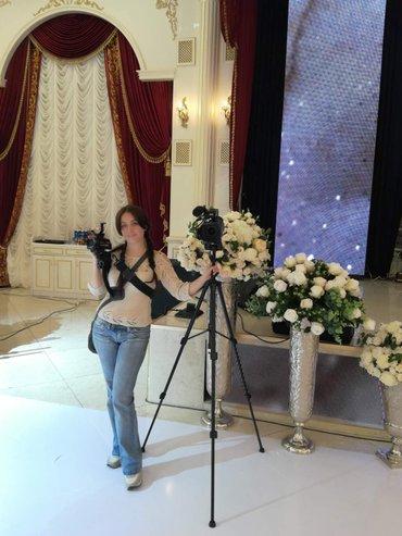 Видеосъемка. Три камеры. Большой стаж работы. в Бишкек