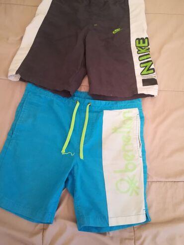 Pantalone e - Srbija: Benetton i Nike sorc za kupanje za decake uzrast 9-10 godina, cena po