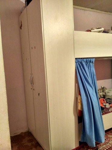 кровать двухъярусная с шефанером в Бишкеке