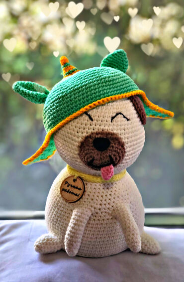 Handmade toy. Crochet every toy with love!
