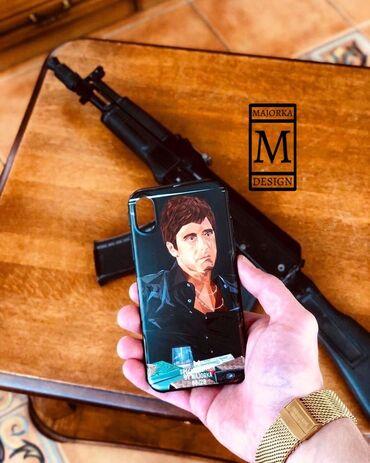 Аксессуары для мобильных телефонов - Бишкек: Индивидуальные чехлыНа все модели телефоновПри заказе чехла на iPhone