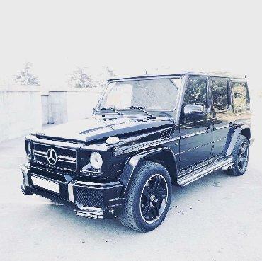 черный mercedes benz в Кыргызстан: Mercedes-Benz G 500 2004