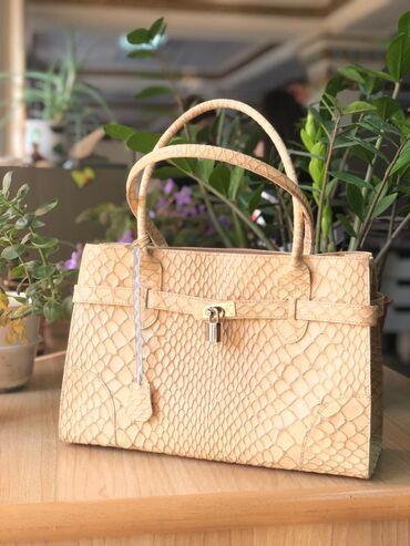 Продается сумка по 3000 сом. Новая! Натуральная кожа, из Австрии. Каче
