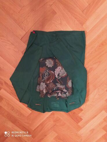 Set džemper zeleni edc L i bluzica jackpot m-l sa elastinom
