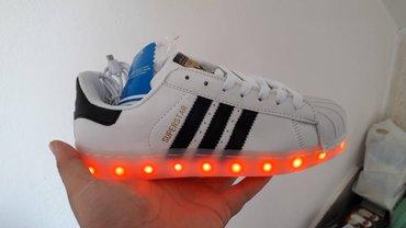 Adidas Superstar Belo-Crne#NOVO#Svetlece Patike!Br. 36-41!   Patike - Nis