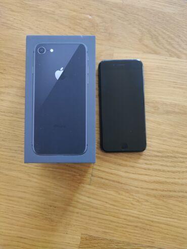 Apple Iphone - Azərbaycan: İşlənmiş iPhone 8 64 GB Qara