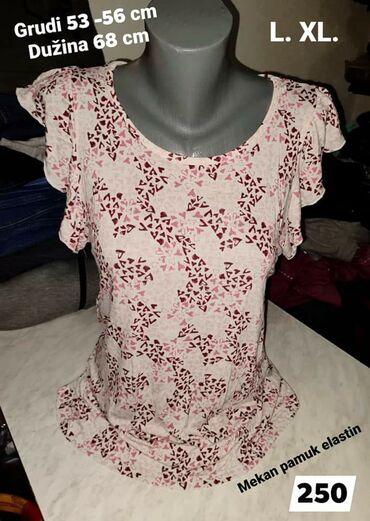 Majica L. XL  Pamuk elastin