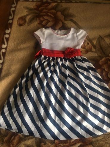 Платье для девочки 6-8 лет. Одевали 2 в Бишкек