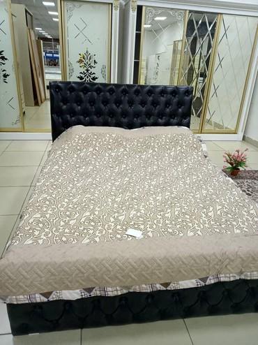 Двуспальная кровать с железным каркасом в Бишкек