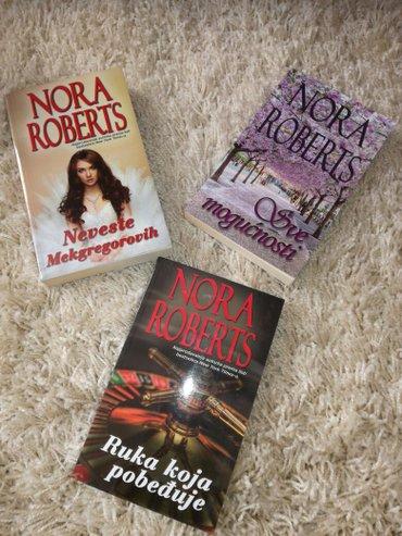 Tri knjige nore roberts.... 500 din - Trstenik