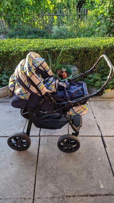 Коляски - Кыргызстан: Детская коляска, Россия. Комплект: коляска+переноска+детская сумка+