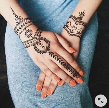 Мехенди, рисунок хной, временная татуировкаЕсли вы хотите выделится но