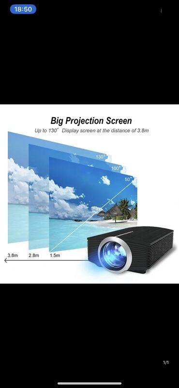 проектор-hdmi в Кыргызстан: Led Projector (YG-500) с поддержкой мультимедиа: музыка, фото, видео