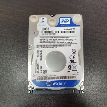 Прокатка дисков бишкек - Кыргызстан: 500gb Western Digital wd5000lpvx-22v0tt0 sata3 5400rpm, оригинал, для