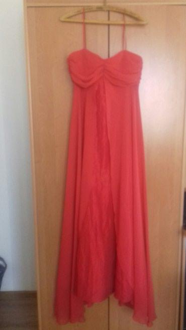 Haljina-crvena-ic - Srbija: Svecana crvena haljina. jednom nosena
