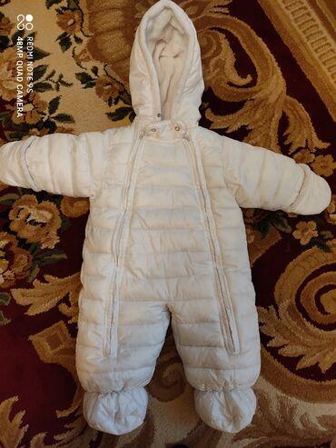 удобный фотоаппарат в Кыргызстан: Очень удобный детский комбинезон, одевали один сезон