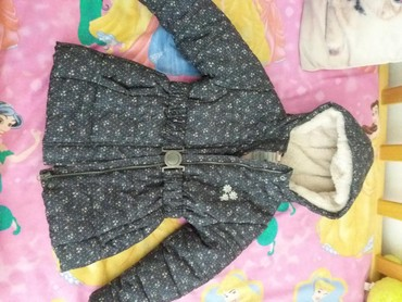 Dečija odeća i obuća - Sombor: Kvalitetna topolina topla jakna ko nova zimska vel 110 cena 1700din