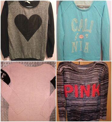Ženska džemperi - Srbija: Rasprodaja 4 za 500! Dva duksa i dva tanja dzempera za 500. Odgovaraju