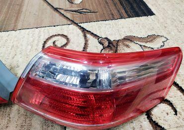 Задние фары Toyota Camry v40 2008 USA. Левая фара повреждена. Правая