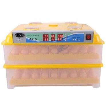 Tam Avtomat196 yumurtaliq inkubator, zavod istehsalidi, elde duzelme