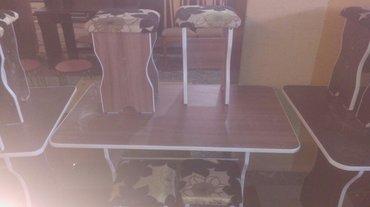 Кухонный стол табуретки в Бишкек