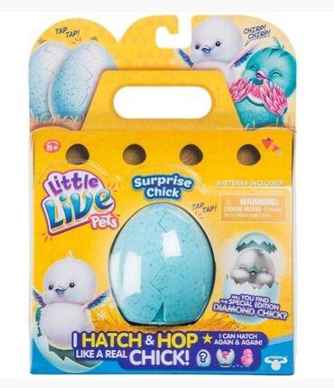 Pile u jajetu. Preslatka interaktivna igracka. Jaje 'puca' i iz njega